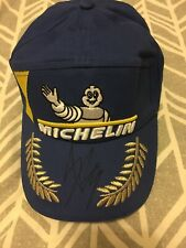 MARC MARQUEZ MOTOGP WORLD CHAMPION SIGNED 2019 MICHELIN PODIUM CAP. NOT ROSSI