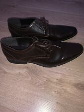 mens brown formal shoes size 10 ASOS
