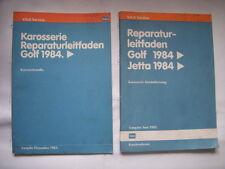 VW Golf 2 Reparaturhandbuch Reparaturbuch KAROSSERIE Massen+Blech+Einschweißen