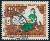 BERLIN, MiNr. 266 I, guter PF, sauber gestempelt, Befund Schlegel, Mi. 300,-