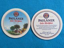 Beer Bar COASTER ~ PAULANER Munchen Hefe-Weissbier ~ Munich, GERMANY; Est 1634