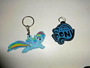 MLP My Little Pony G4 Soft Rainbow Dash Keychain lot