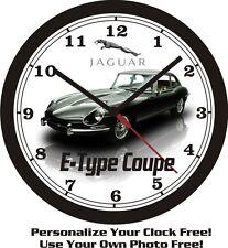 1968 JAQUAR E-TYPE COUPE WALL CLOCK-FREE USA SHIP!