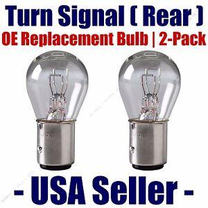 Rear Turn Signal Light Bulb 2-pk Fits List International Harvester Vehicles 198