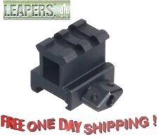 "Utg 1"" High Profile 2 Slot Compact Picatinnny Style Riser Mount # Mnt-Rs10S2"