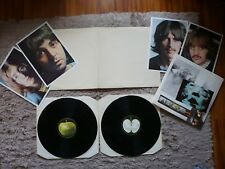 THE BEATLES il WHITE ALBUM VINILE UK Apple 1984 STEREO premendo 2LP COMPLETO EXC