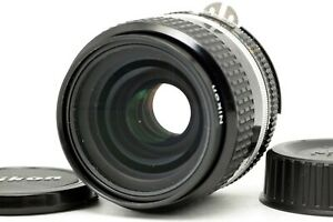 【Near MINT】 Nikon Ai-s Nikkor 35mm f/2 AIS Wide Angle MF Lens w/ caps From JAPAN