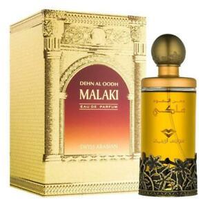 Dehn al Oud Malaki 100ml EDP Amber Floral Oud by Swiss Arabian