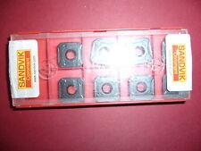 8.Stk Sandvik Wendeplatten R245-12 T3 M-PH 4240 ***Neu***