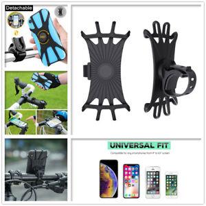 Bike Mobile Phone Holder Stand Bicycle Handlebar Mount 360°Rotation Motorcycle