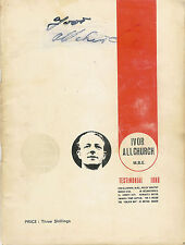 More details for ivor allchurch swansea cardiff newcastle & wales signed testimonial brochure