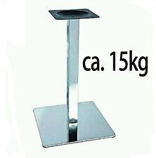 ca15kg edelstahl gestell Tischfuß Edestahlgestell untergestell Bistrotisch 45x45