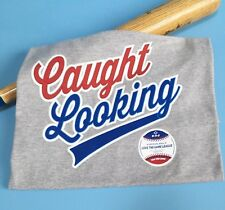 """""""Caught Looking"""" Baseball Lingo Tee By LOVE THE GAME LEAGUE"""