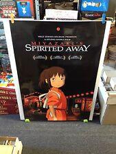 SPIRITED AWAY Movie Poster 27x40 One Sheet - Double Sided ** Disney's Miyazaki's