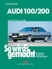Reparaturanleitung Audi 100 200 1982-1990 Werkstatthandbuch So wirds gemacht 41