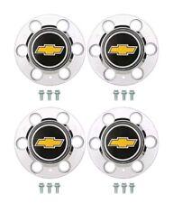 "CHEVY GMC  6 Lug 15x8 15"" TRUCK RALLY Wheel Center Hub Caps Bolt On Hubs 4wd/K10"