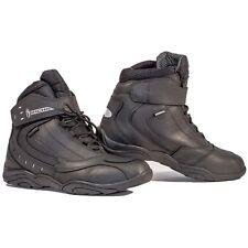 Richa Slick Ankle Leather Waterproof Motorcycle Boots - Black