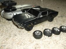 XMODS Gen 1 black 65 Mustang with drift wheels and stage 2 w metal heat sink