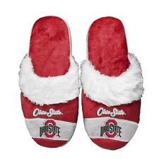 Ohio State Buckeyes Women's Stripe Logo SLIDE SLIPPERS New FREE U.S.A. SHIPPING