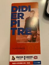 unused season hockey tickets Canadiens featu Didier Pitre habs 1909
