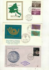 ITALY.  14 OLD FIRST DAY COVERS. SEE PICTURES.