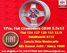 1 Cerchio CD30 Cromodora Abarth Fiat Lancia Alfa Romeo N.1 Wheel Felge Jante TUV