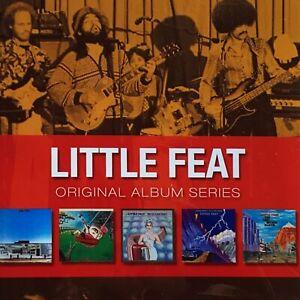Little Feat : Original Album Series : 5 CD Set : NEW : NO Replacement Case