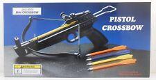 50 lb. Mini Crossbow Pistol Hand Held Gun Archery Hunting Cross Bow w/ 5 Arrows