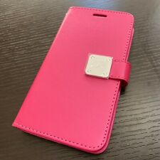 Samsung Galaxy J7 2017 Models - PU Leather Card Wallet Diary Pouch Case Hot Pink