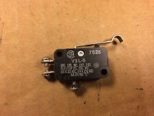 NOS Vintage Honeywell Micro Switch V3 L-5 5A 125V 1975 (Qty available)