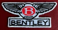 Top Quality Fine Embroidered Bentley Motors Patch / Badge to Iron on or Sew on