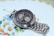 RARE VINTAGE SEIKO 6138-0011 UFO Day Date Orologio Cronografo Automatico definiti