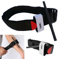 First Aid Tourniquet Medical Emergency Buckle Quick Slow Release Strap Black