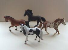 4 SCHLEICH ANIMALS - HORSES