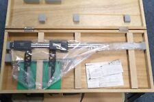 """Mitutoyo Digital Carbon Fiber Caliper Long 7.9"""" Nib Style Jaws 0-18"""" 0.0005"""""""