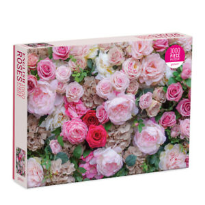 James Ogilvy English Roses1000 Piece Puzzle by Galison