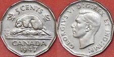 Extra Fine 1947 Canada 5 Cents