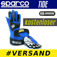 SPARCO Handschuh Tide, BLAU, Professionelle Handschuhe Rally Racing Motor Sport