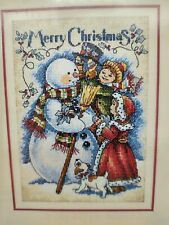 Dimensions Gold Collection Petites Vintage Merry Christmas Counted Cross Stitch