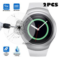 2 Pcs Tempered Glass Screen Protector Film for Samsung Gear S2 S3 Smart Watch