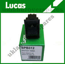 LAND ROVER DEFENDER LUCAS HAZARD WARNING LIGHT SWITCH  - YUF101490 - SPB312
