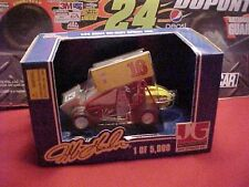 1995 JEFF GORDON #16 RACING CHAMPIONS JG. MOTORSPORTS 1/24 SPRINT CAR 1 OF 5000