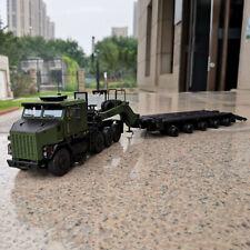 TWH 1:50 Heavy Truck Car Model OSHKOSH HET M1070 Tractor With M1000 Trailer