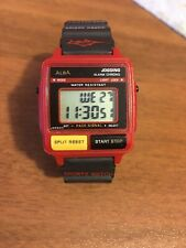 Alba Jogging Lcd Seiko Watch Anni 80