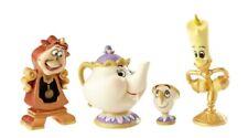 Disney Showcase Beauty and the Beast Enchanted Object Figurine Set 4060076