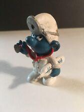"""1978 Smurf  2"""" Figure - Doctor Smurf  - Peyo Schleich"""