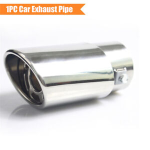 "For 1.5""-2.2"" Car Exhaust Tail Pipe End Tip Muffler Replacement Accessories 1PC"