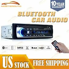 Car Stereo In Dash Bluetooth MP3 Player Aux Input USB MP3 WMA FM Radio Receiver