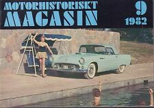 Motorhistoriskt Magasin Swedish Car Magazine 9 1982 Triumph 040317nonDBE