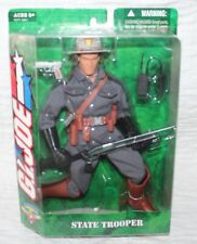 "GI JOE 1:6 EXTREMELY RARE STATE TROOPER POLICE COP 12"" ACTION FIGURE ~ NEW ~ HTF"